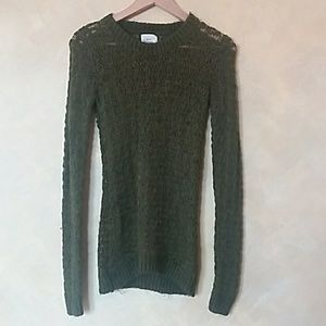 Sweaters - army green sweater size xs